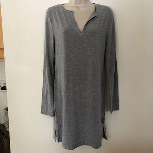 CALVIN KLEIN modal vented knit night shirt